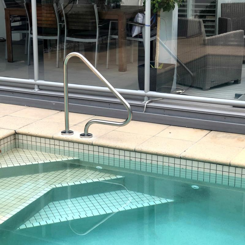 pool handles and pool railings Gold Coast