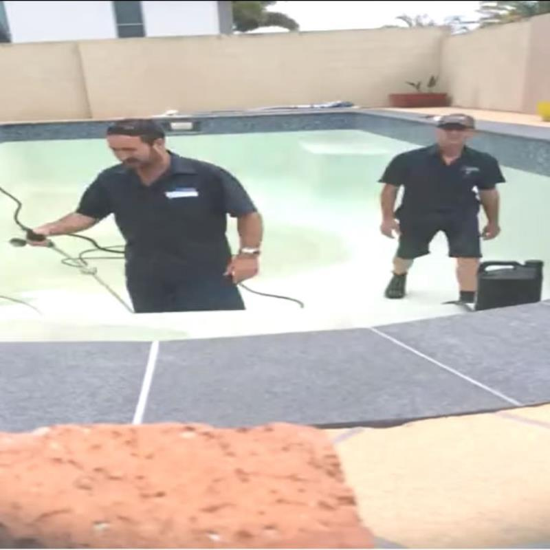 Acid Wash pool cleaning Gold Coast