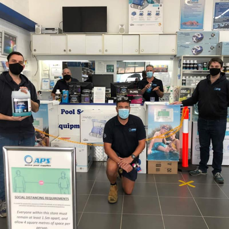 Active Pool Supplies for covid safe shopping