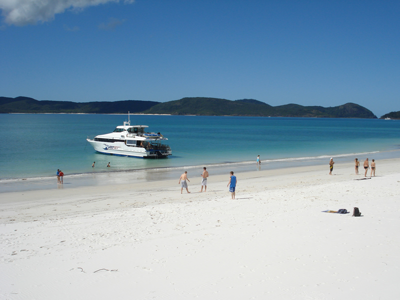 Reefjet at Whitehaven Beach