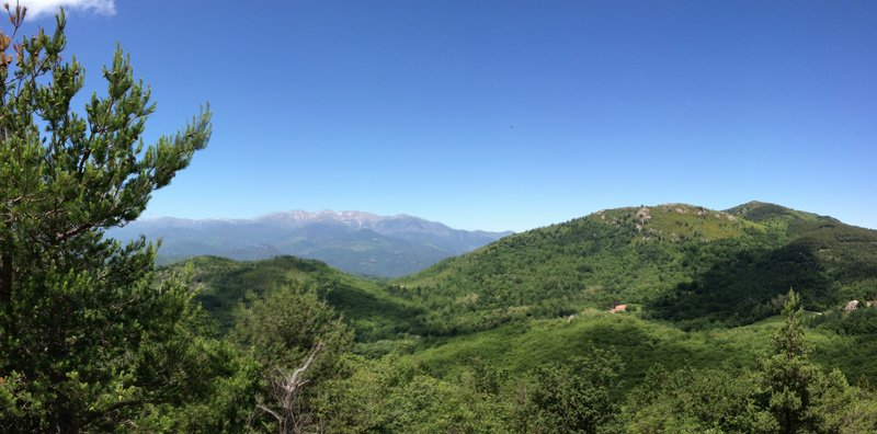 East end of Pyrenees