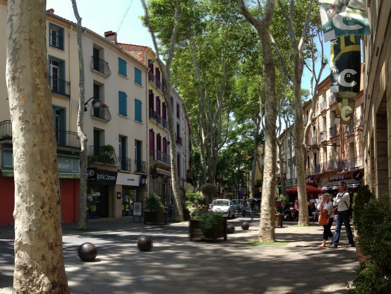 Picturesque Ceret, France