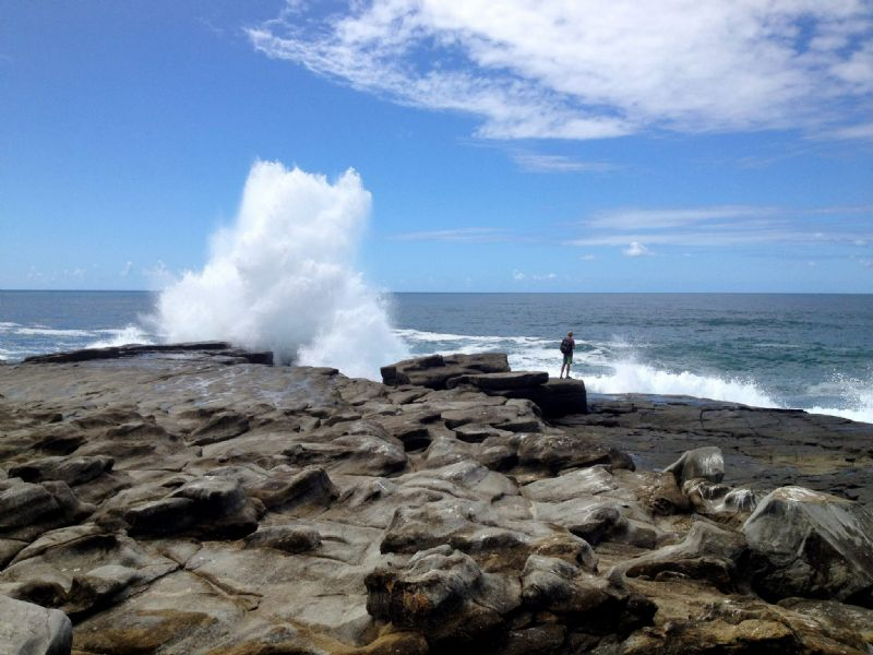 Exploring the Point in Yamba