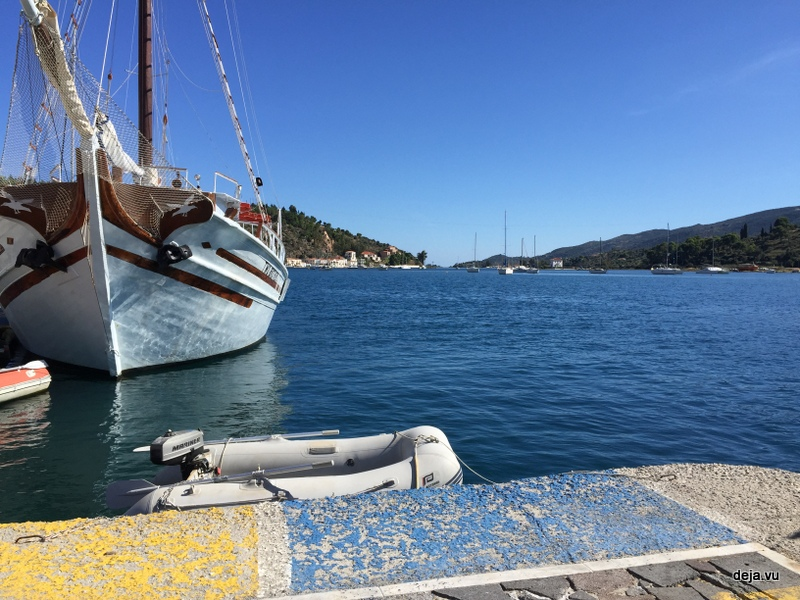Coming ashore in the Zodiac is easy