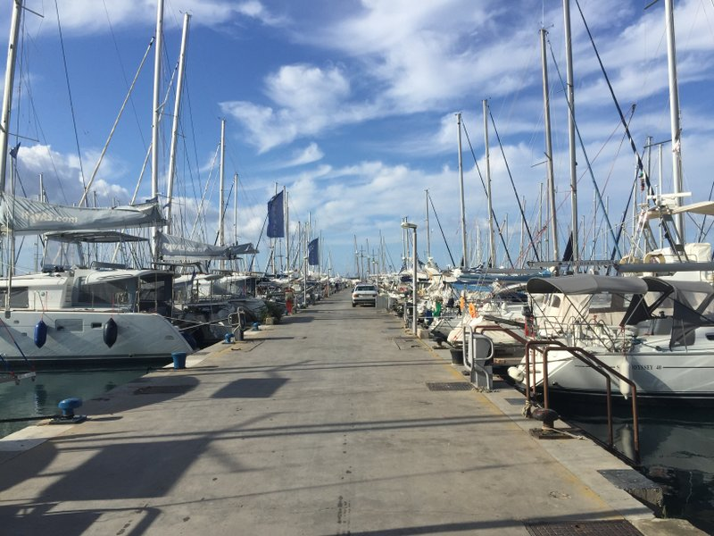 The marina based at Athens
