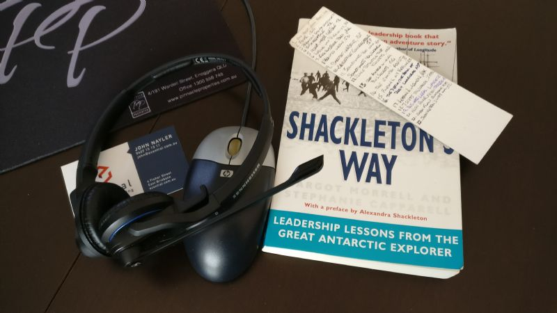 Before leadership was a science there were Shackleton