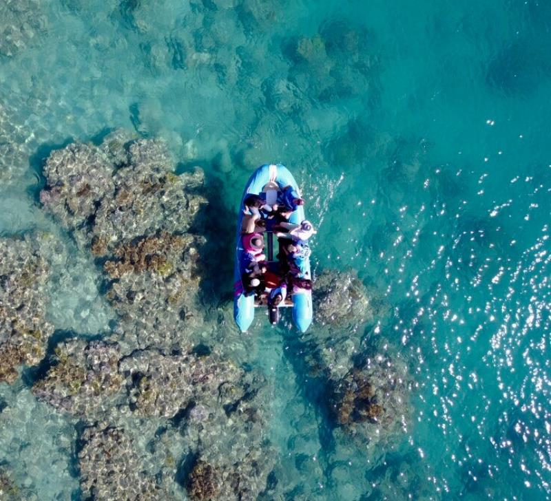 SNORKELING AIRLIE BEACH | GLASS BOTTOM BOAT