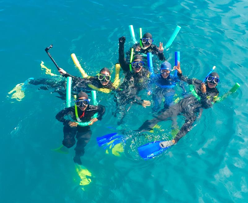 Whitehaven Beach Tours Cruise with BBQ and Snorkeling.