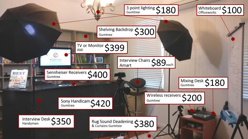 how to make a video studio
