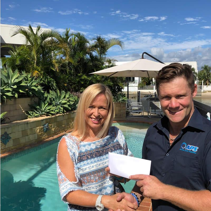 Pool supplies Gold Coast competition winner