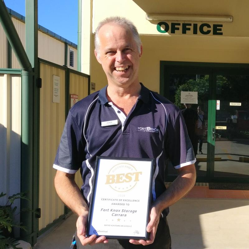 Fort Knox Storage Carrara service excellence