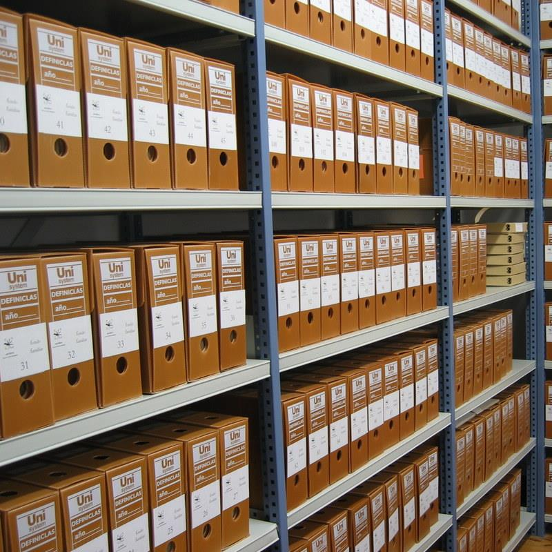 Storing Archives at Fort Knox Storage Ipswich