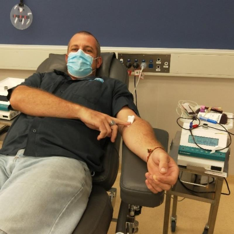 Active Pool Supplies gives blood