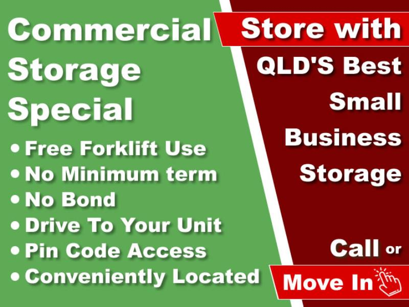 Commercial storage at Underwood