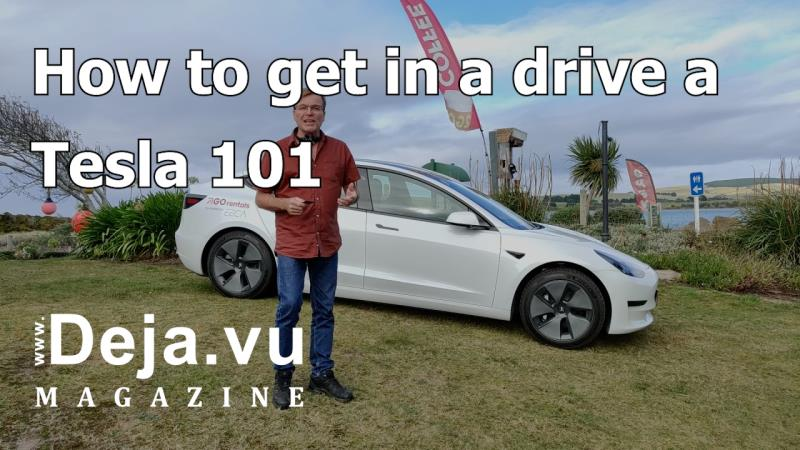 How to drive a Tesla Model 3 101