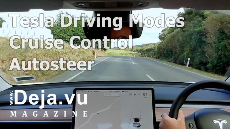 Tesla driving modes and tesla autosteer