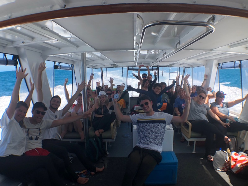 Whitehaven Beach Tours from Airlie Beach | Lower Aft deck