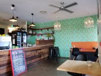 Cafe wallpaper and painting Everton Hills