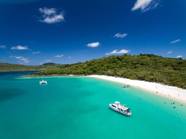 Whitehaven Beach | 2 hours for BBQ Lunch & Swimming/Sunbaking