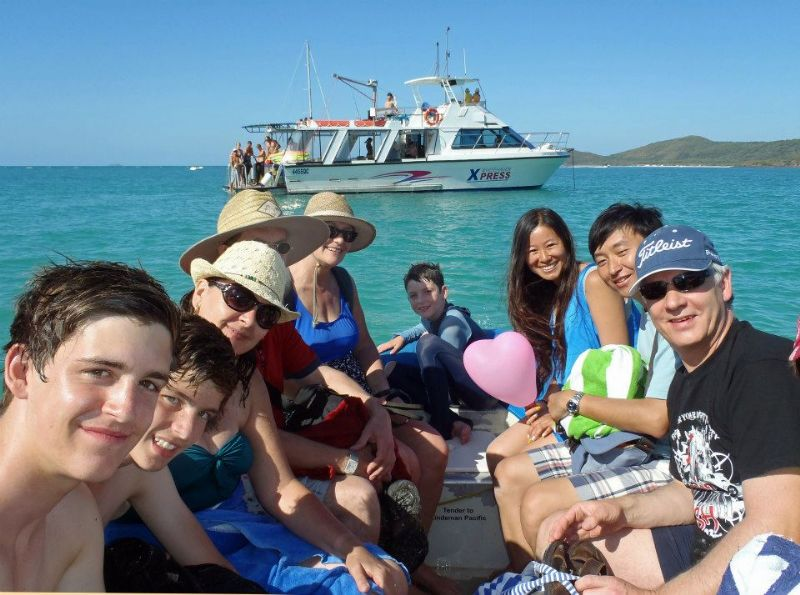 Departing Whitehaven Beach | Back to Whitehaven Xpress - whats next?