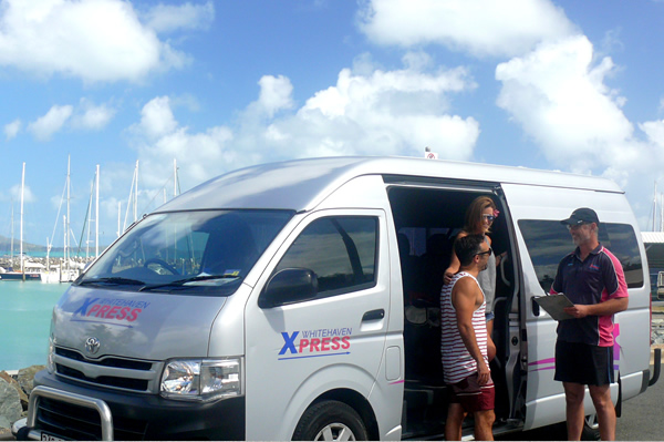 Airlie Beach Tours | Courtesy Pick up
