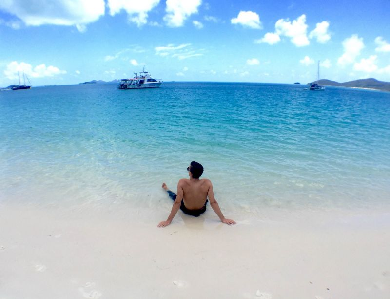 Whitehaven Beach after the BBQ | A memorable outlook