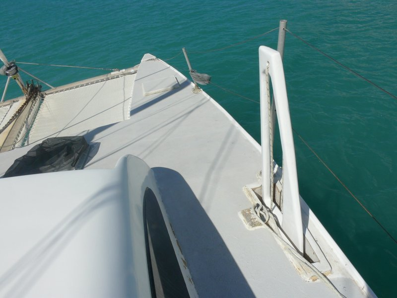 Dagger board allow shallow draft, but excellent sailing performance