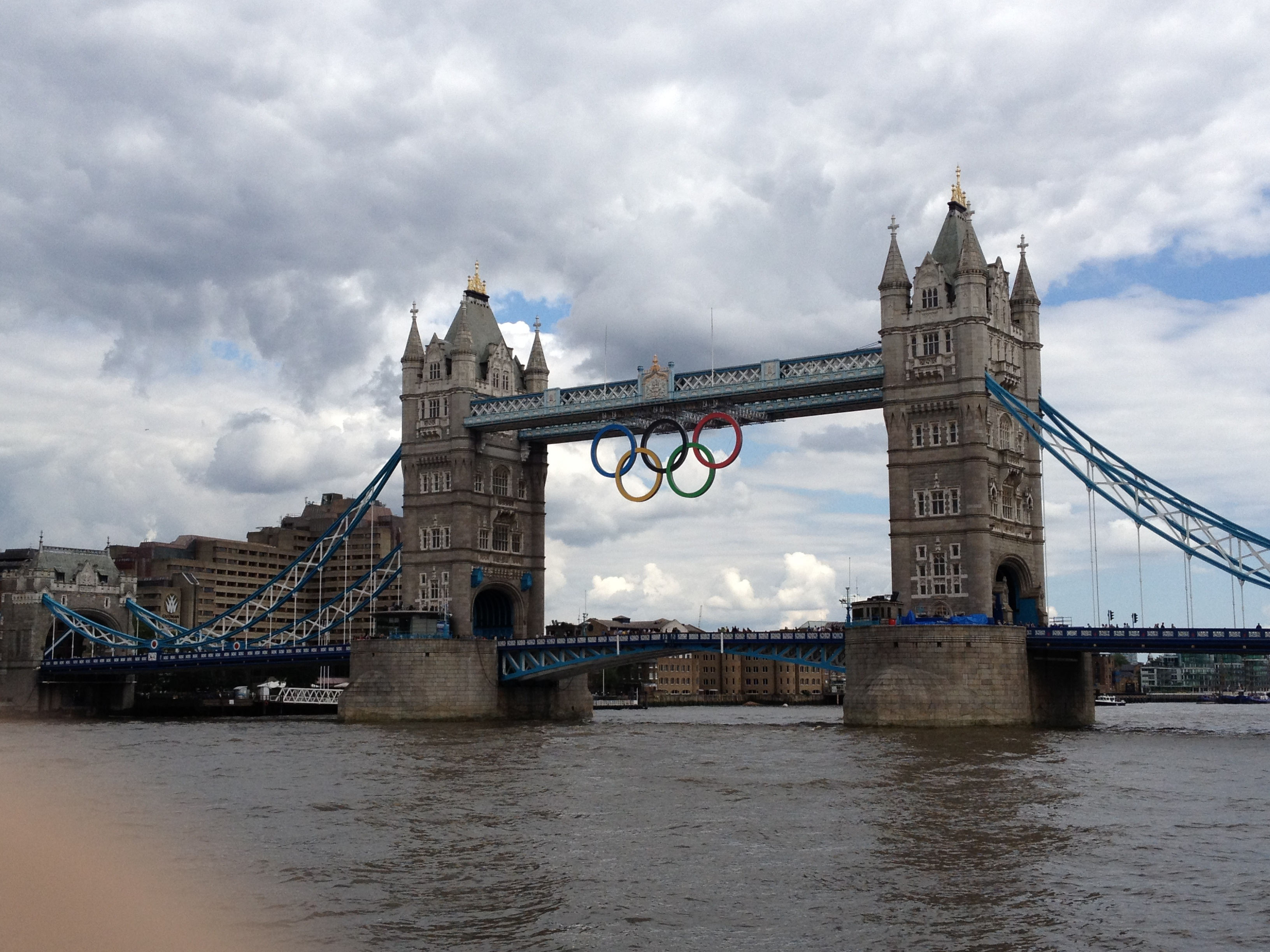 London moaning about having the Olympics