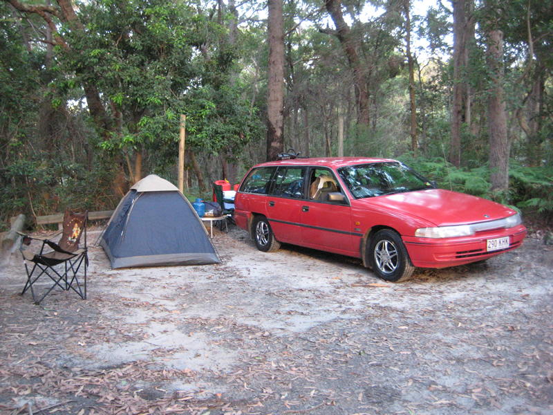 Camping gear for sale, car included