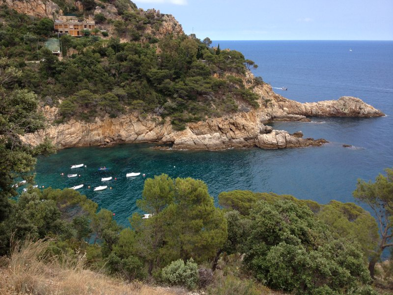Cove on the Costa Brava