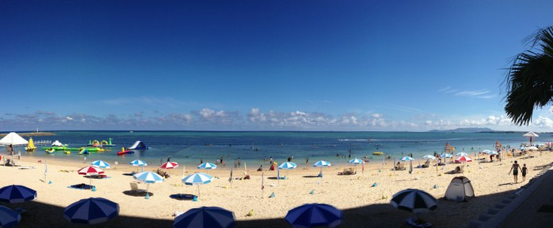 Okinawa beach front resort