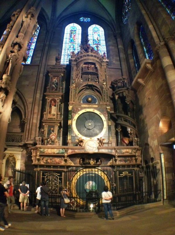 Clock in Cathedral