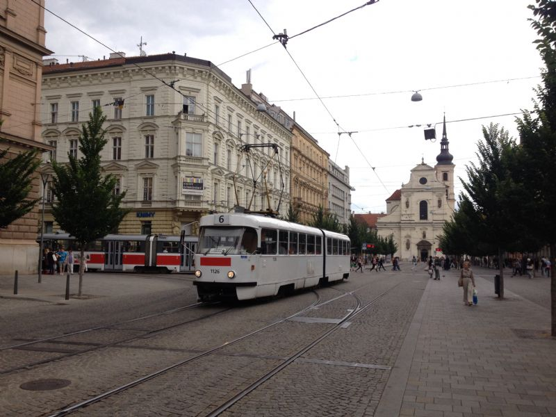 Old trams are common