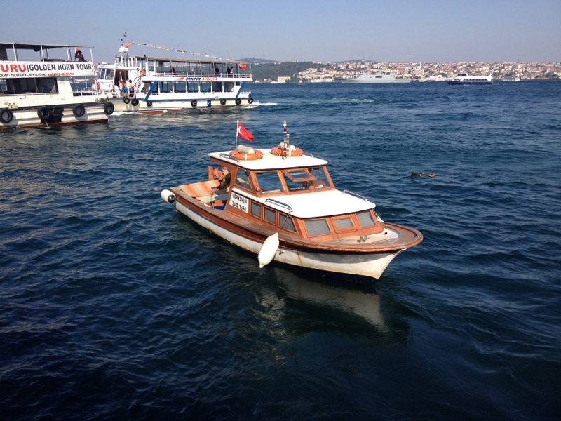 Our Bosphorus boat cruise