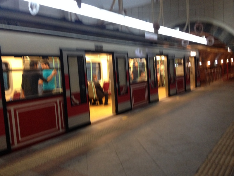 Tunel Tram - just one stop