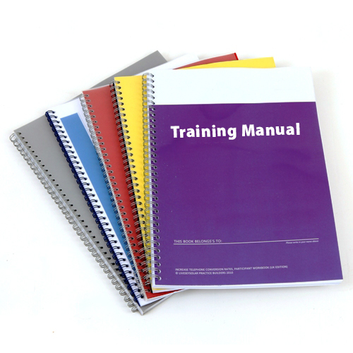 Training Manual Printing Brisbane By Digital Synergy Hendra Brisbane