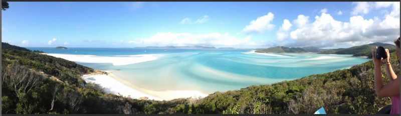 Hill Inlet Lookout with Whitehaven Xpress