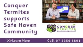 Conquer Termites Northside supports Safe Haven Community