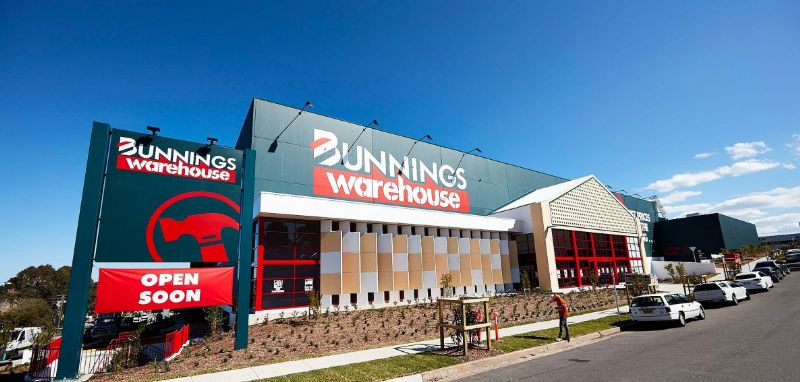 Bunnings retail warehouse insulation