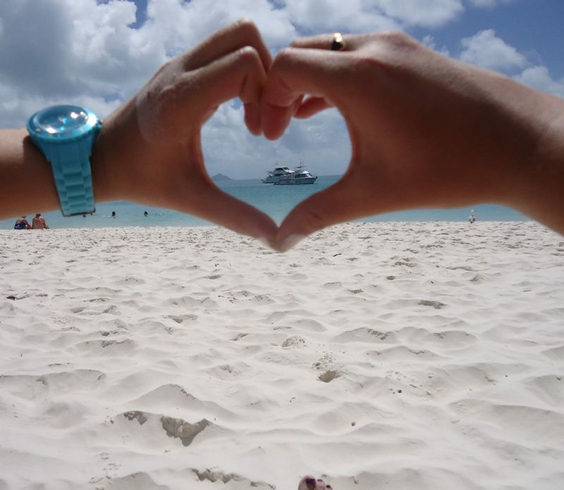 Like it, love it, Whitehaven Beach with Whitehaven Xpress
