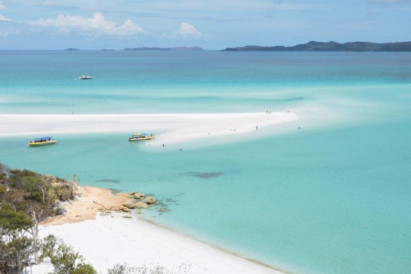 Whitehaven Beach tours visit Hill Inlet