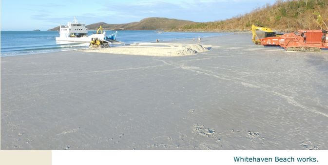 whitehaven Beach Recovery for Visitors