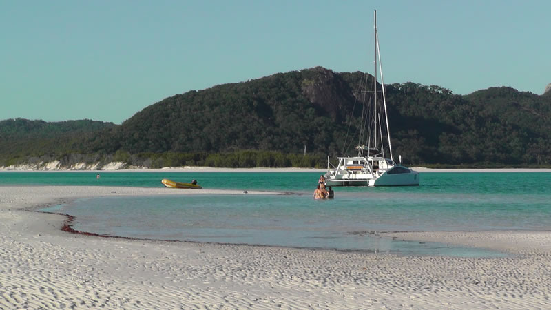 The beach at Hill Inlet